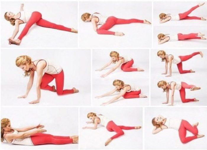 Упражнения для вумбилдинга с шарами и тренажерами